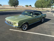 1967 Ford Mustang2 door Coupe,  GT Equipment Group