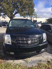 2013 Cadillac Escalade Black leather